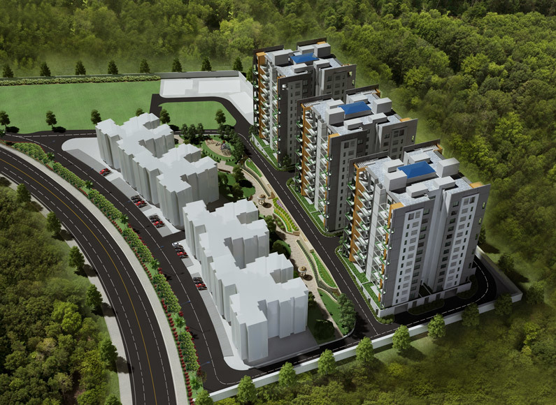 SPACIOUS PREMIUM 3 BHK AT S P INFOCITY PHURSUNGI